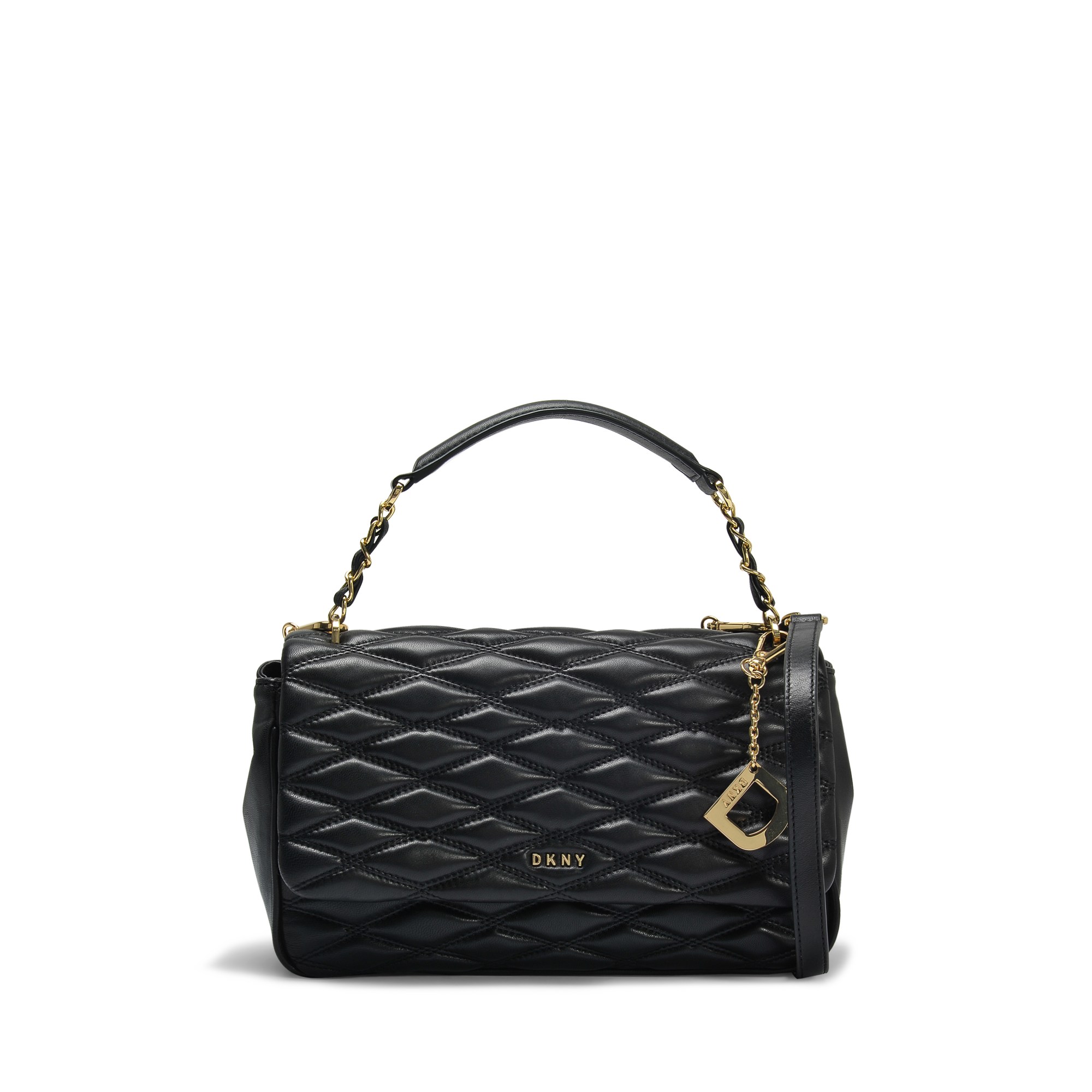 Diamond Quilted medium flap shoulder bag