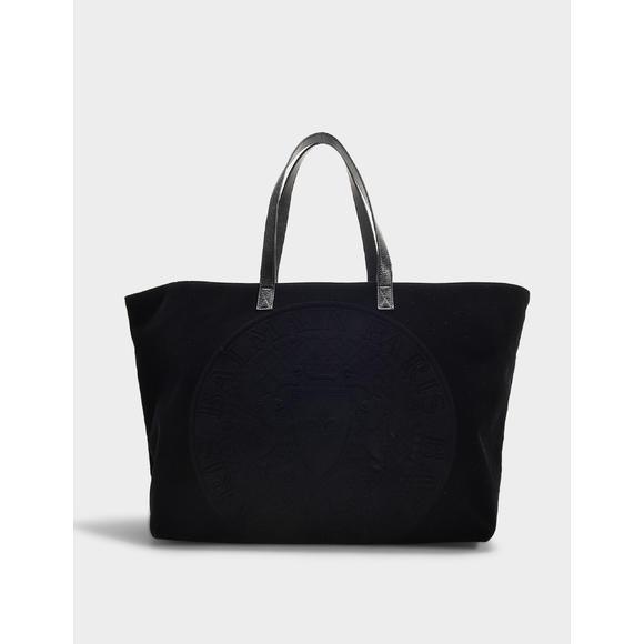 毛绒 Logo购物袋