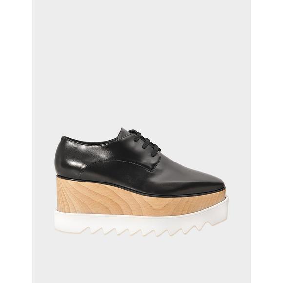 Elyse lace up松糕鞋