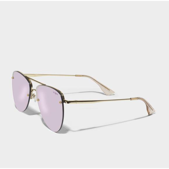 The Prince Sunglasses in Metallic Metal